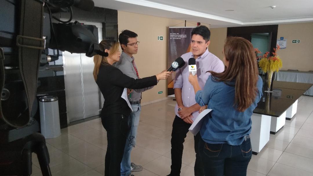 Pesquisa do Mercado Imobiliário – TV Encontro das Águas – Repórter Amazonas