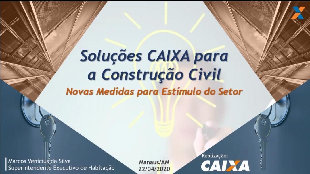 Caixa apresenta ações para a construção civil a associados da Ademi-AM